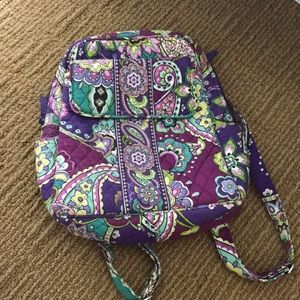Vera Bradley Heather Pattern Backpack
